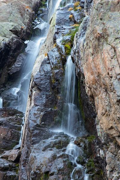 Waterfall below Glass Lake