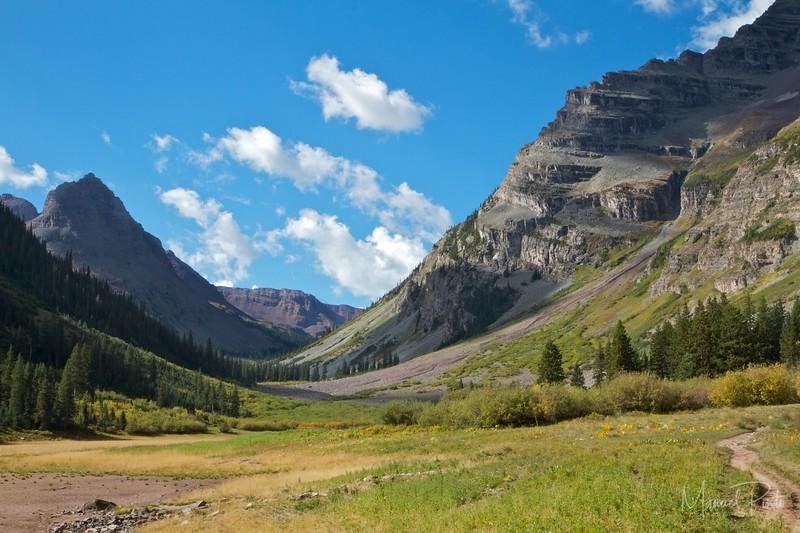 Maroon Bells Crater Lake Aspen - Manuel Pinto