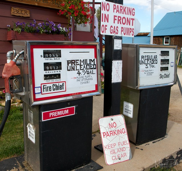 NO PARKING at Fire Chief & Sky Chief