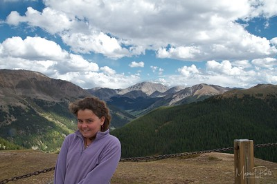 Maya at Independence Pass