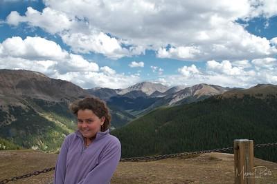 Maya at Independence Pass