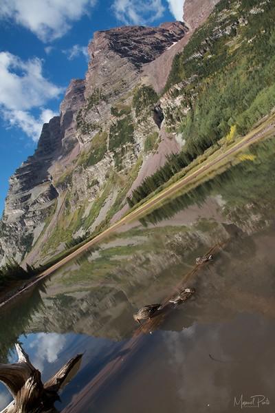 Reflections at Crater Lake