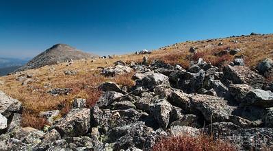 Tundra and rocks