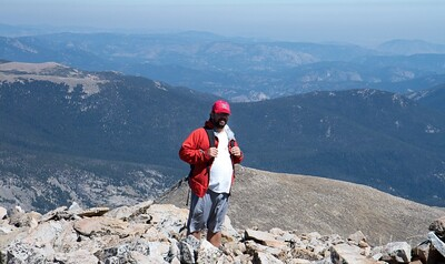 Summit Mt Audubon, 13,200 ft  or 4,000 M