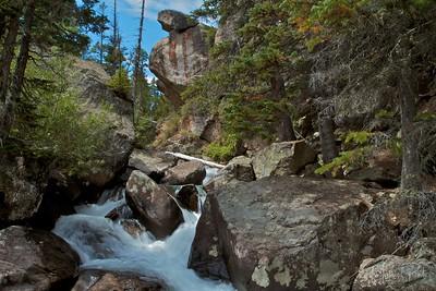 Timberlake Falls on the Buchanon Pass Trail