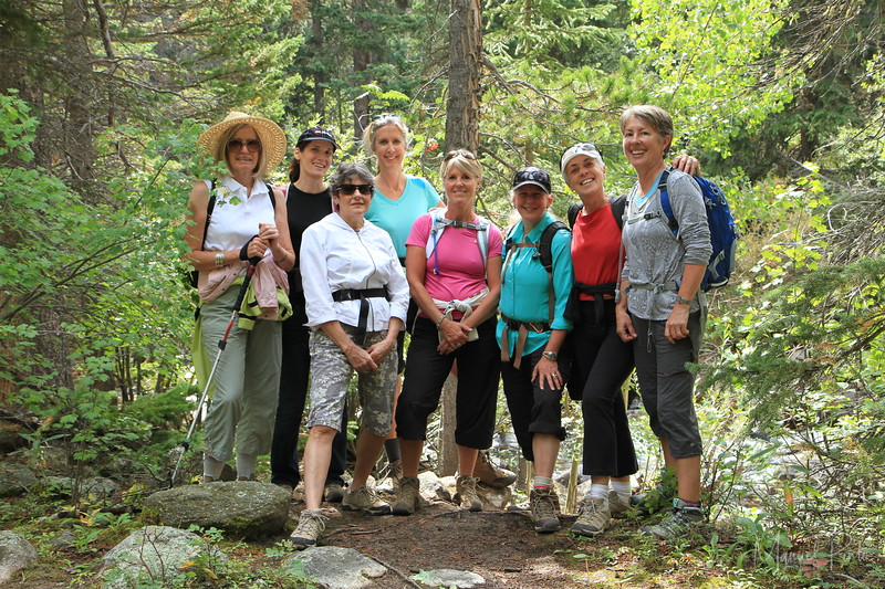 The Bonnie Hiking Ladies