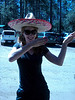 Nothing like a good Sombrero hula dance to get a hike started! :)