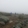 A little too late, cloudy, and cold for a traverse to Mount Lafayette.