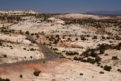 On the way to Capitol Reef