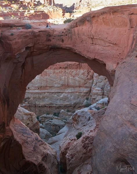 Manuel on Cassidy Arch