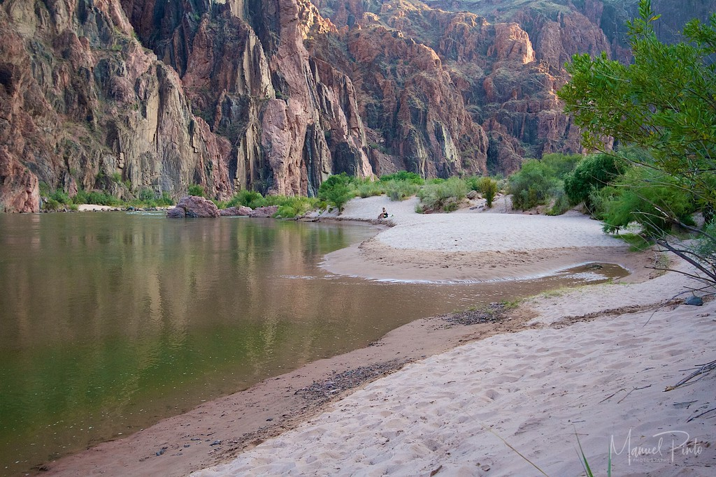 Beach at the Phantom Ranch