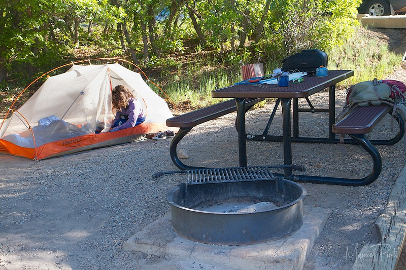 Our campsite...with WIFI internet!!!  OMG the NPS is awesome!