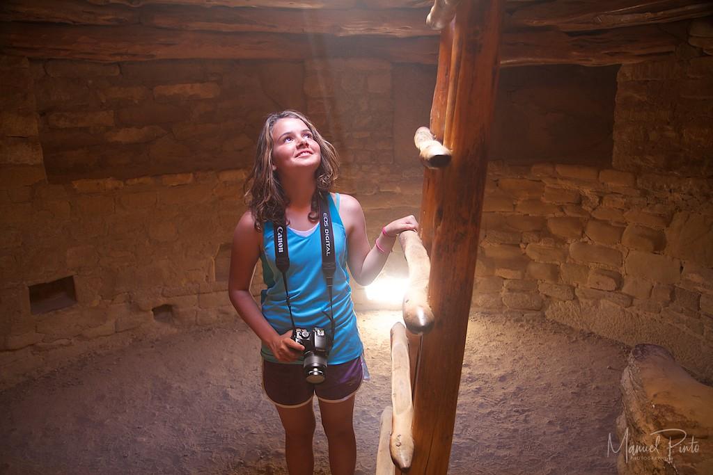 Maya in a kiva