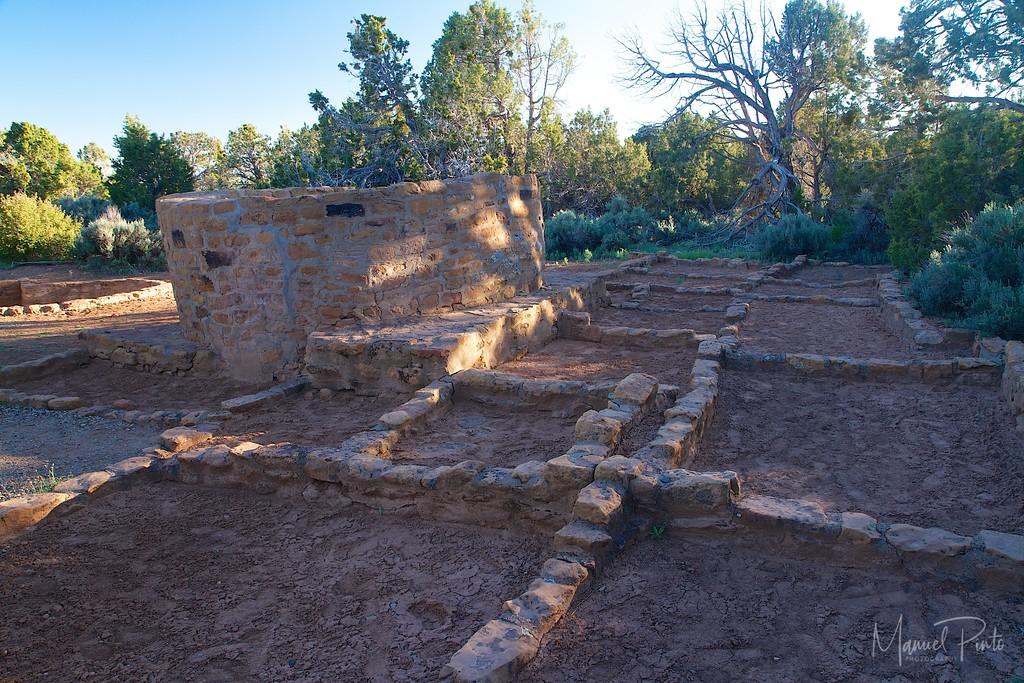 Ruins at Mesa Verde