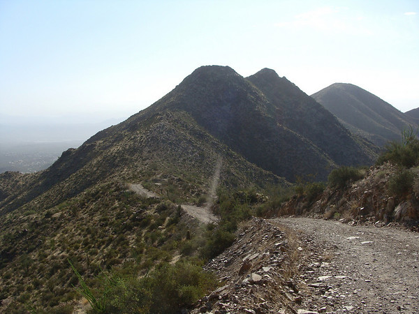 Thompson Peak, 10-16-10