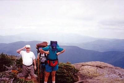 Bob and Bert on Mt Hale