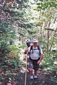 Bob and Frank on Hale Brook Trail