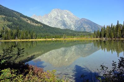 String Lake and Mt Moran