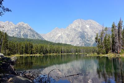 Mt Moran and String Lake