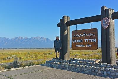 Tom at Grand Teton National Park