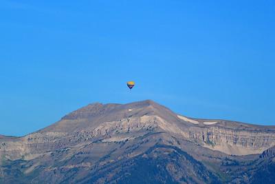 Balloon over the Tetons