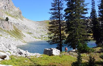 Jen at Marion Lake