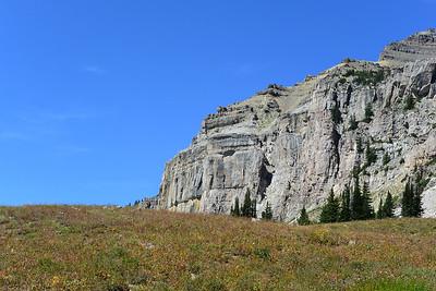 Cliffs Over the Shelf