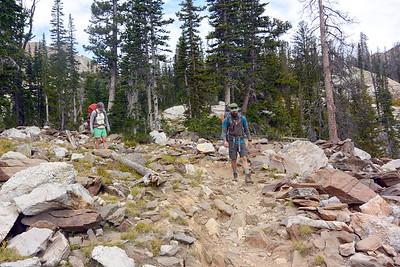 Jen and Joe on the Trail