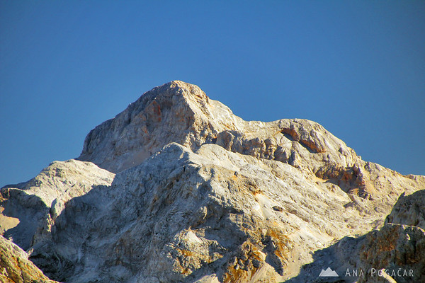 Mt. Triglav, the highest Slovenian mountain