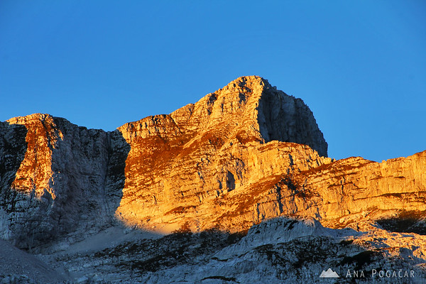 Mt. Krn in the early morning light