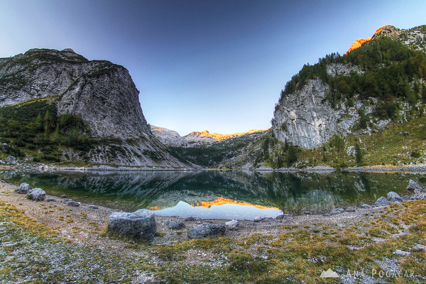 Krn Lake at sunrise