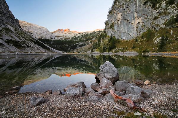 Krn Lake at sunrise