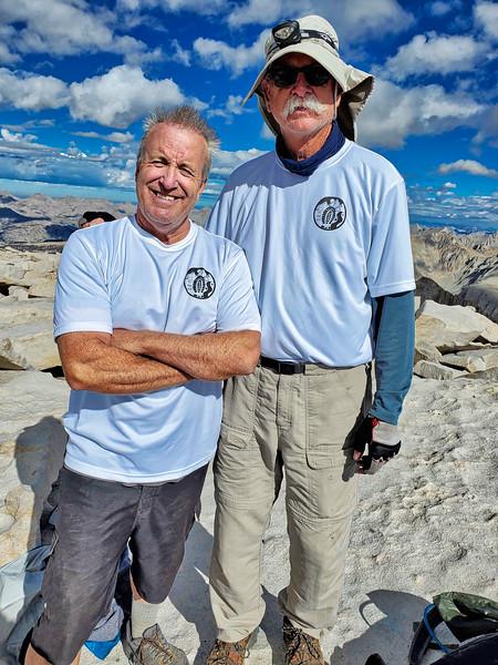 Rick & Jim - Founding members of the 25 Step Club