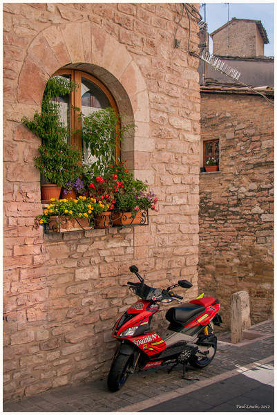 A mixture of old and new. Fundamentally, Assisi is a residential community.