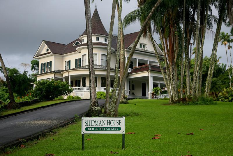 Shipman House, Reed's Island, Hilo, 1899.