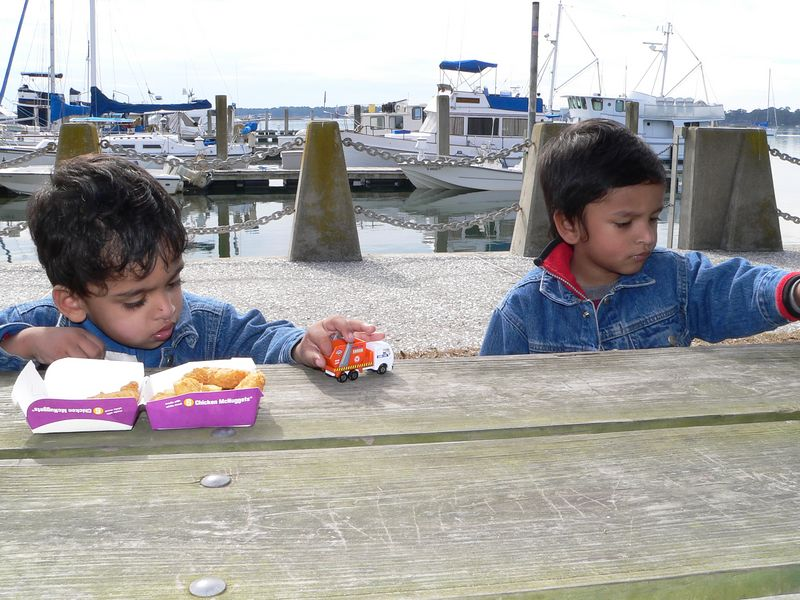 Beaufort - Lunch