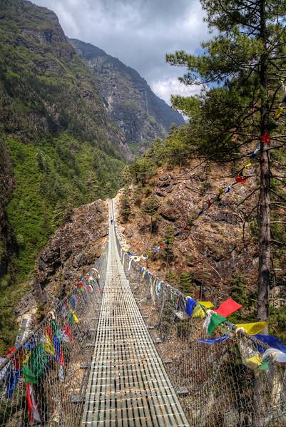 Tengboche to Namche to Phakding to  Lukla