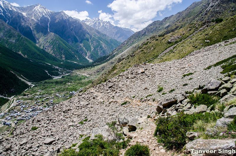 "Taken at Latitude/Longitude:31.354551/78.442946. 1.63 km South-East Mastarang Himachal Pradesh India <a href=""http://www.geonames.org/maps/google_31.354551_78.442946.html""> (Map link)</a>"