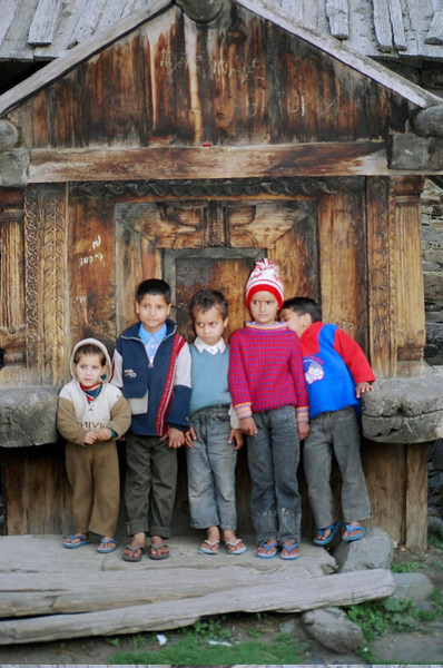 Kids at Mukhia Muth