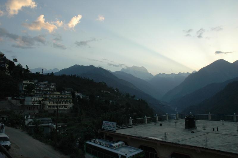 Mountains at Kedarnath