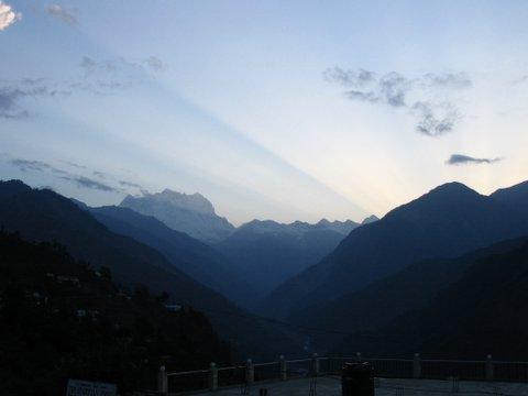 Early morning at Kedarnath