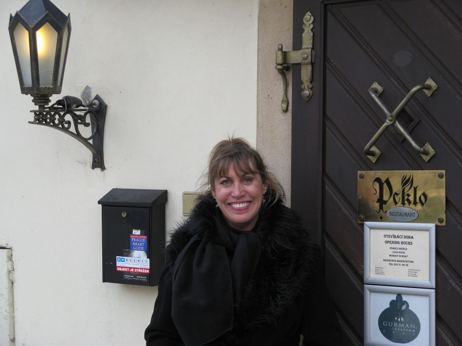 """A restaurant called """"Hell"""" in the Premonstraterian Monastery at Strahov in Prague"""