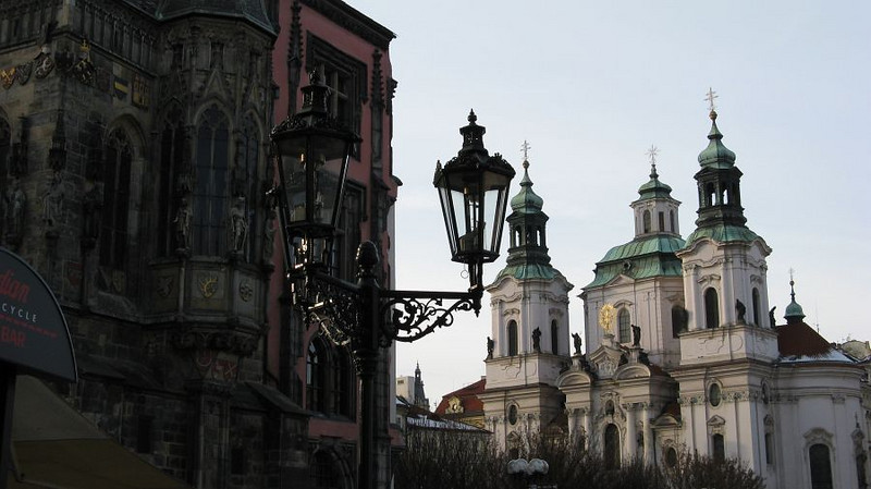The church of St. Nicholas in Old Town