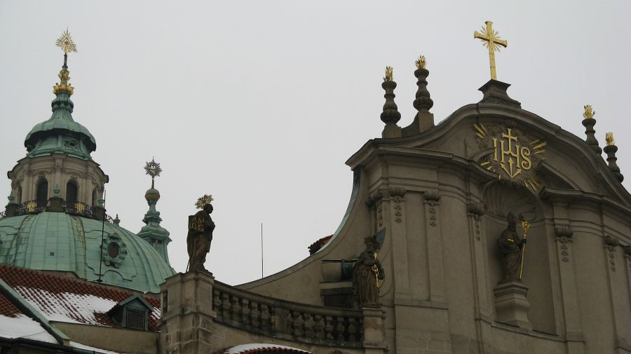 The cathedral of St. Nicholas in Malá Strana