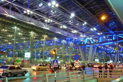 Leaving from Bangkok airport