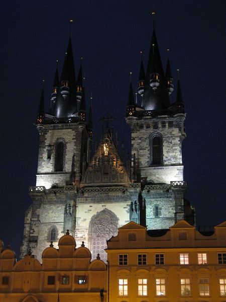 The cathedral of Our Lady before Týn in Old Town