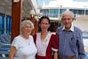 John & Lorna with Philippino Steward