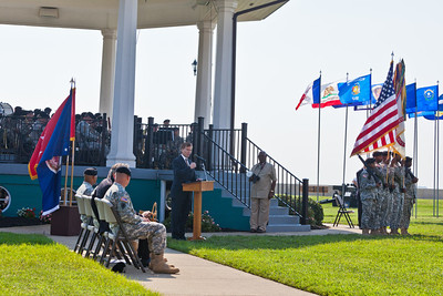 Governor McDonnel speaks to Fort Monroe's exceptional service and outlines a vision for a bright future in its new role.