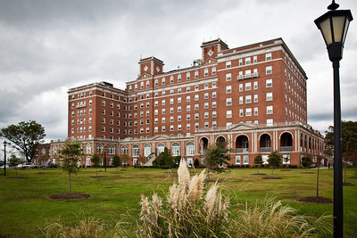 The Chamberlain, now a private residence facility, was formally the Chamberlain Hotel, the third hotel to be built on this site while the Army occupied Fort Monroe, Virginia.