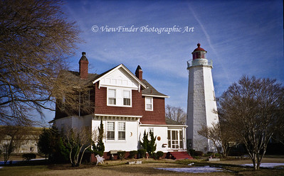 Old Point Comfort Light and Keeper's House at Fort Monroe